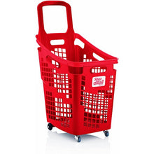 Load image into Gallery viewer, Trolley Basket, 2 Wheels - 65 Litre In Solid Colour