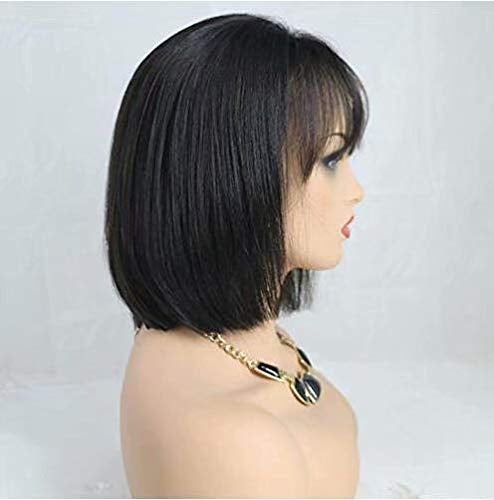 Short bob wig 8 inches