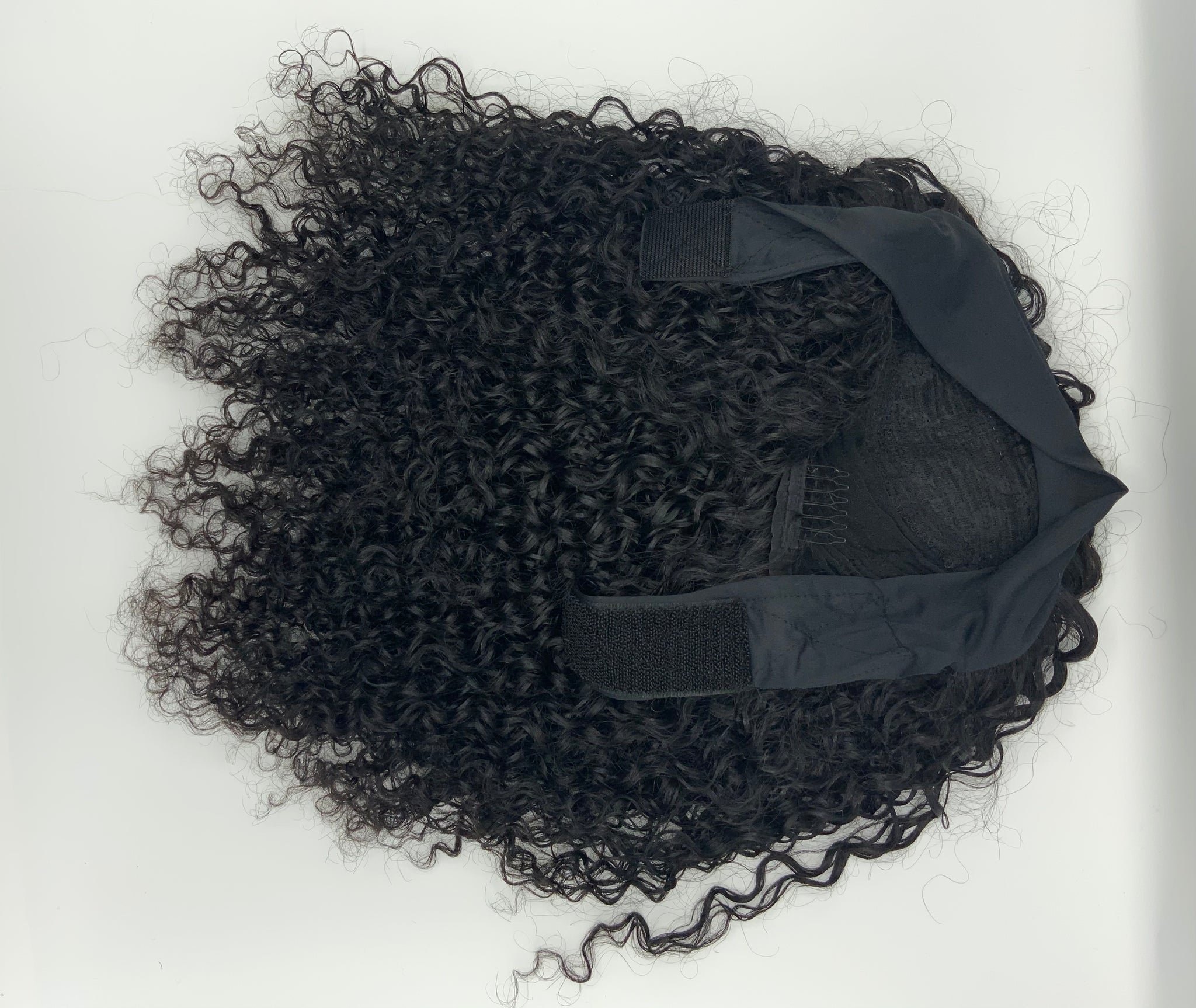 20 inches kinky curly head band wig *9*