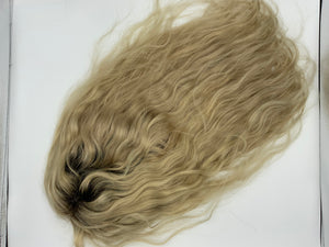Straight Blonde custom frontal wig 24 inch