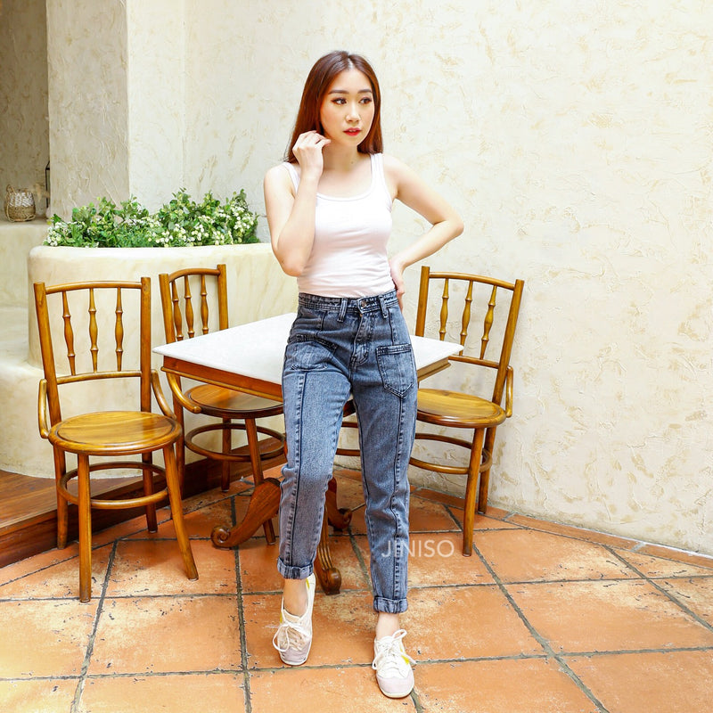 JINISO - HW Boyfriend Jeans 751 - 761 SLAYING BABE
