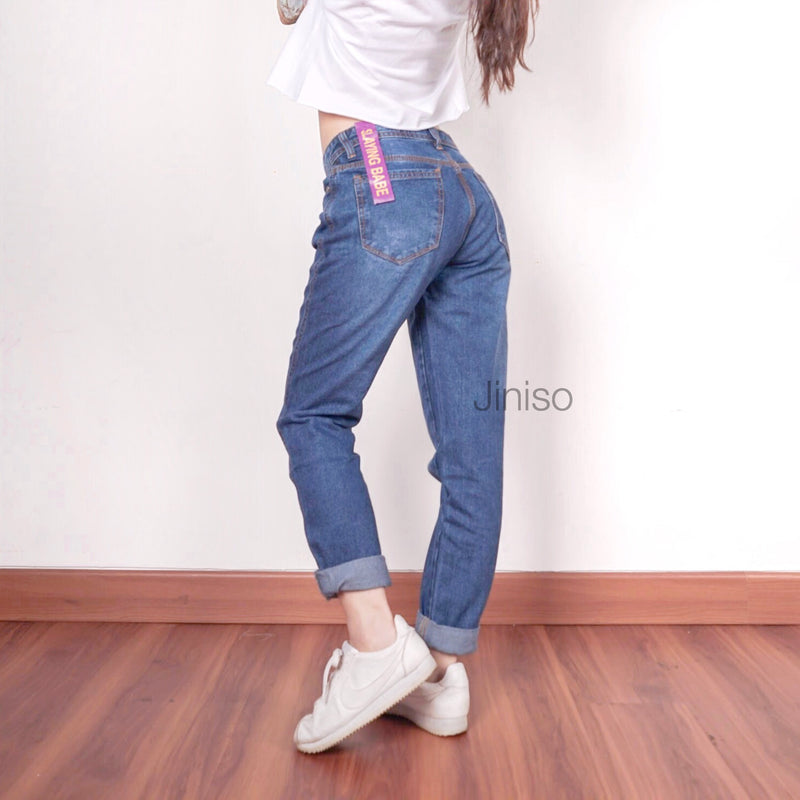 JINISO - HW Boyfriend Jeans 701 - 711 SLAYING BABE