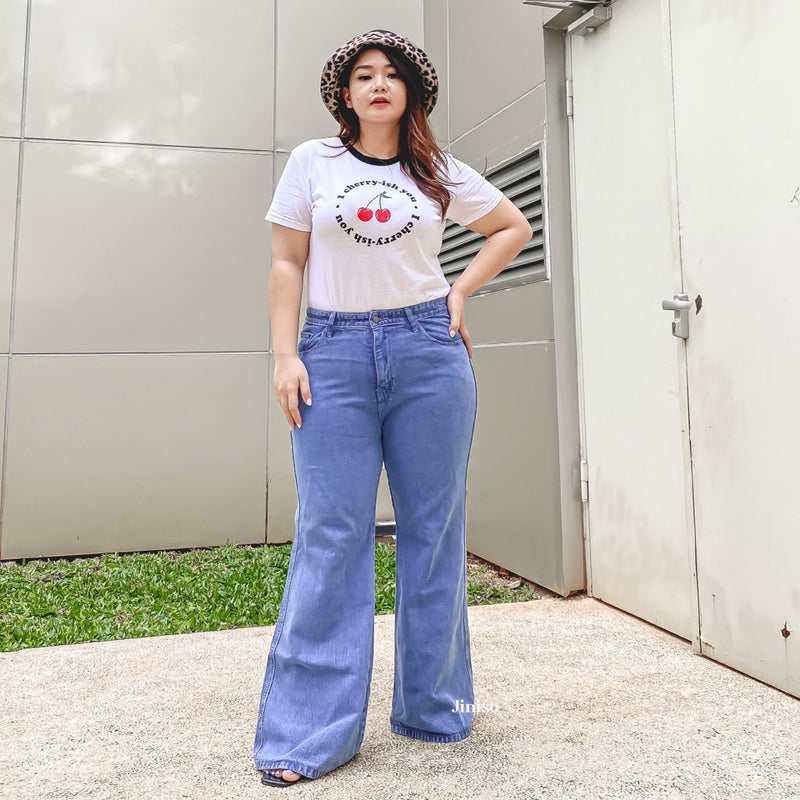 JINISO - HW Cutbray Jeans 3404 REAL CURVY
