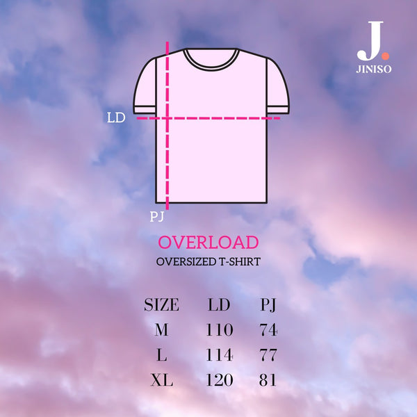 JINISO T-Shirt The Way You Love Me Oversize Tee | Kaos