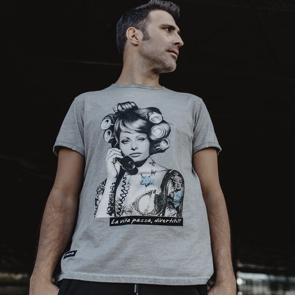 Be Happiness - Camiseta Sophia Loren
