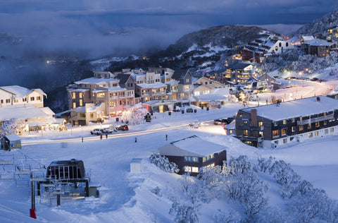 Mount Hotham is a mountain in the Victorian Alps of the Great Dividing Range in Australia