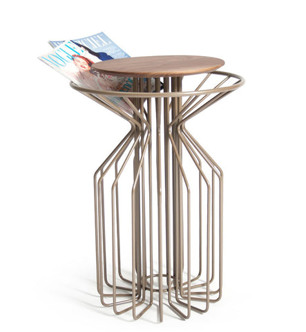 AMARANT Side Table - Perl Beige