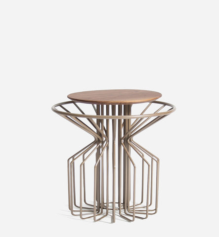 AMARANT Side Table Low - Perl Beige
