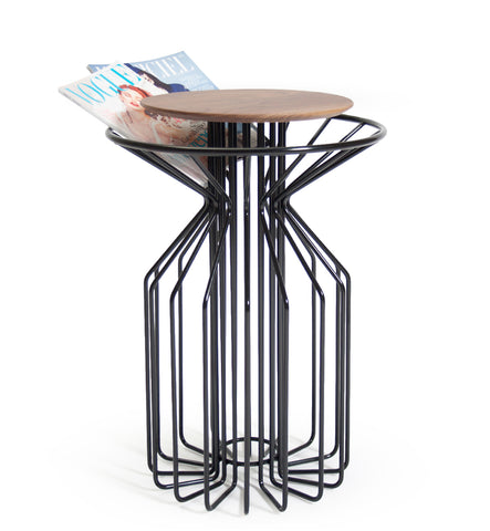 AMARANT Side Table - White