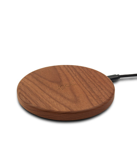 FAST Wireless Charger- Walnut
