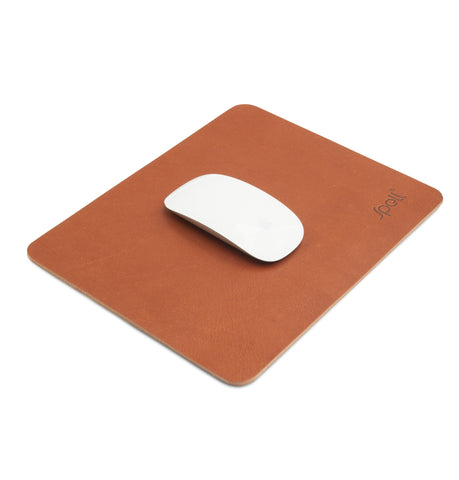 PREMIUM Leather Mousepad- Brown