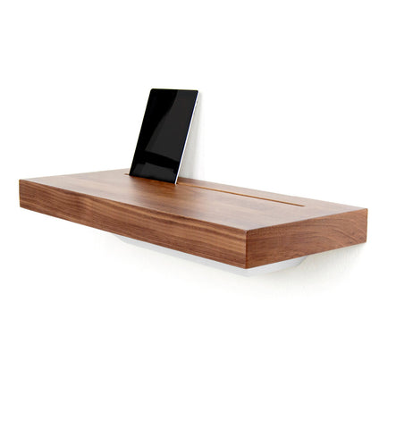 tech furniture. STAGE Interactive Shelf - Walnut Tech Furniture
