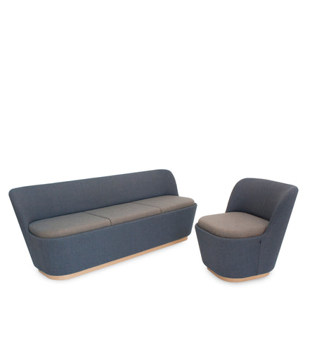 SHUFFLE Two Seat Table Sofa