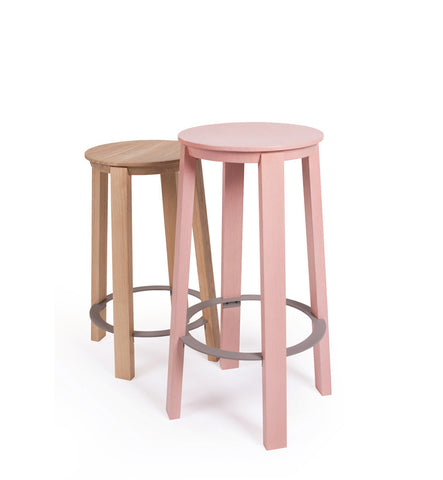WORKER Stool Black