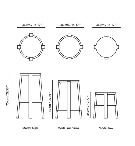 WORKER Stool Range