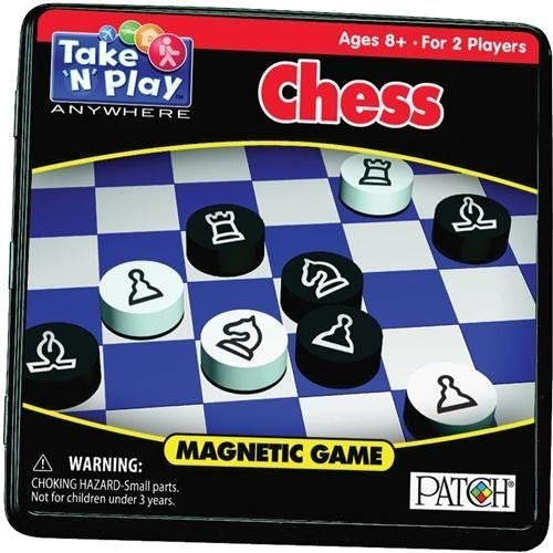 Take n Play Anwhere Magnetic Chess Game