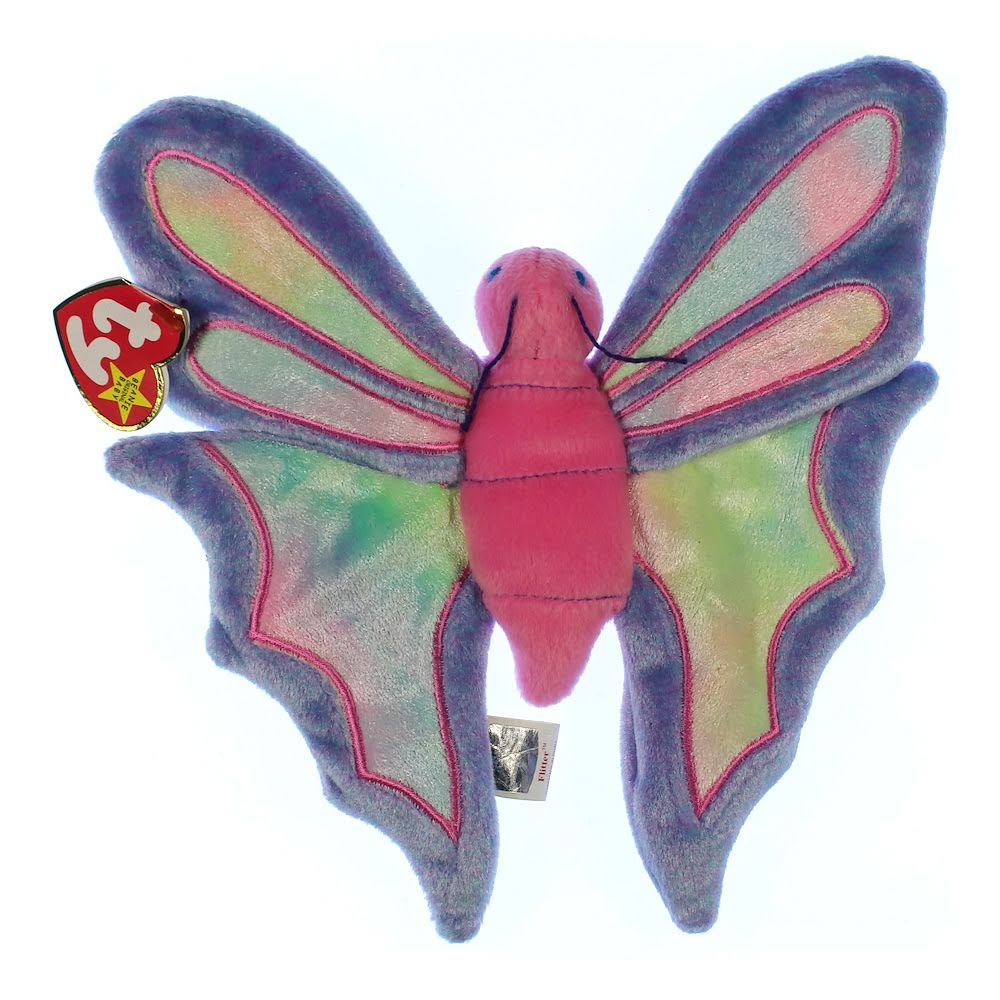 TY Beanie Babies - Flitter the Butterfly