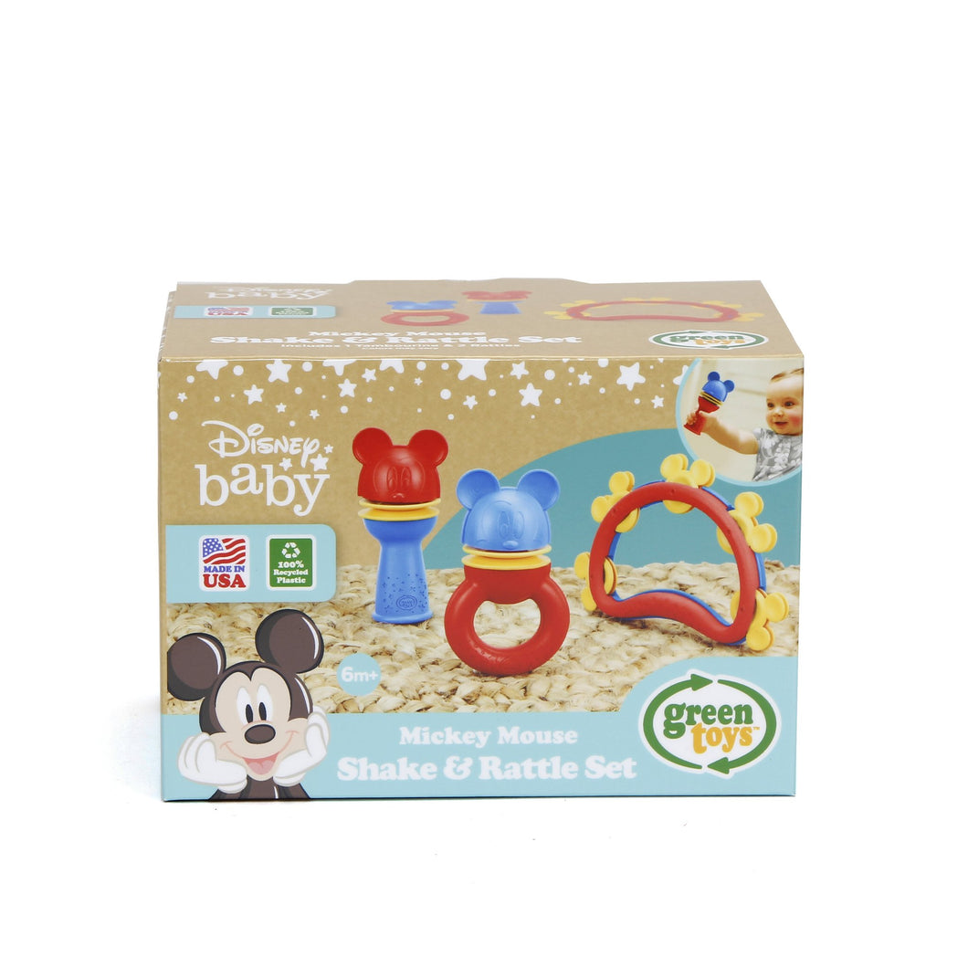 Mickey Mouse Shake & Rattle Set