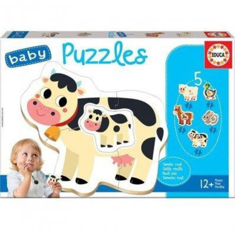 Educa Farm Animals Baby Puzzle