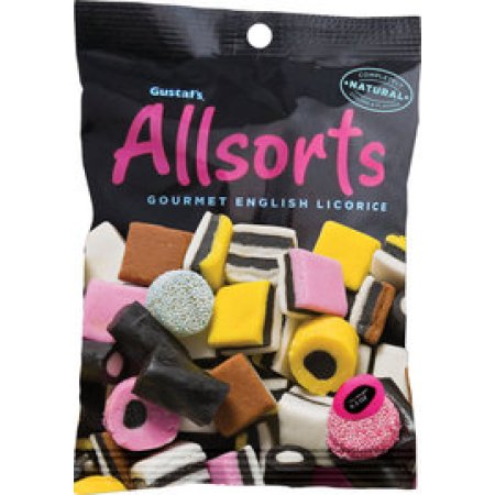 Gustafs Allsorts Gourmet English Licorice