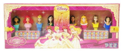 Pez Candy and Dispenser - Disney Princesses Combo