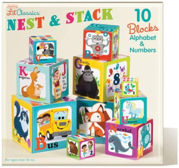 Schylling Little Classics Nest and Stack Toy