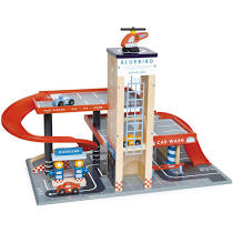 Big Jigs City Auto Centre Playset