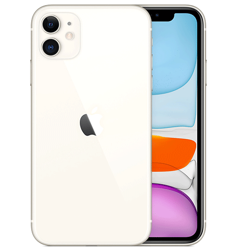NO Face-ID - iPhone 11 White 256GB (Unlocked) - eCommsell
