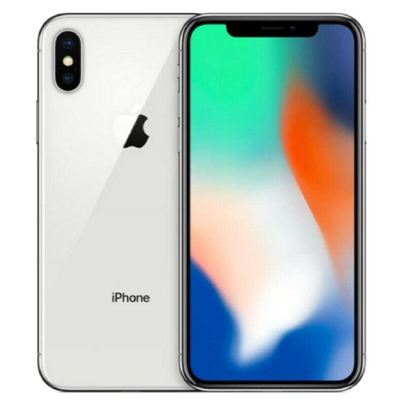 iPhone X Silver 64GB (Unlocked)