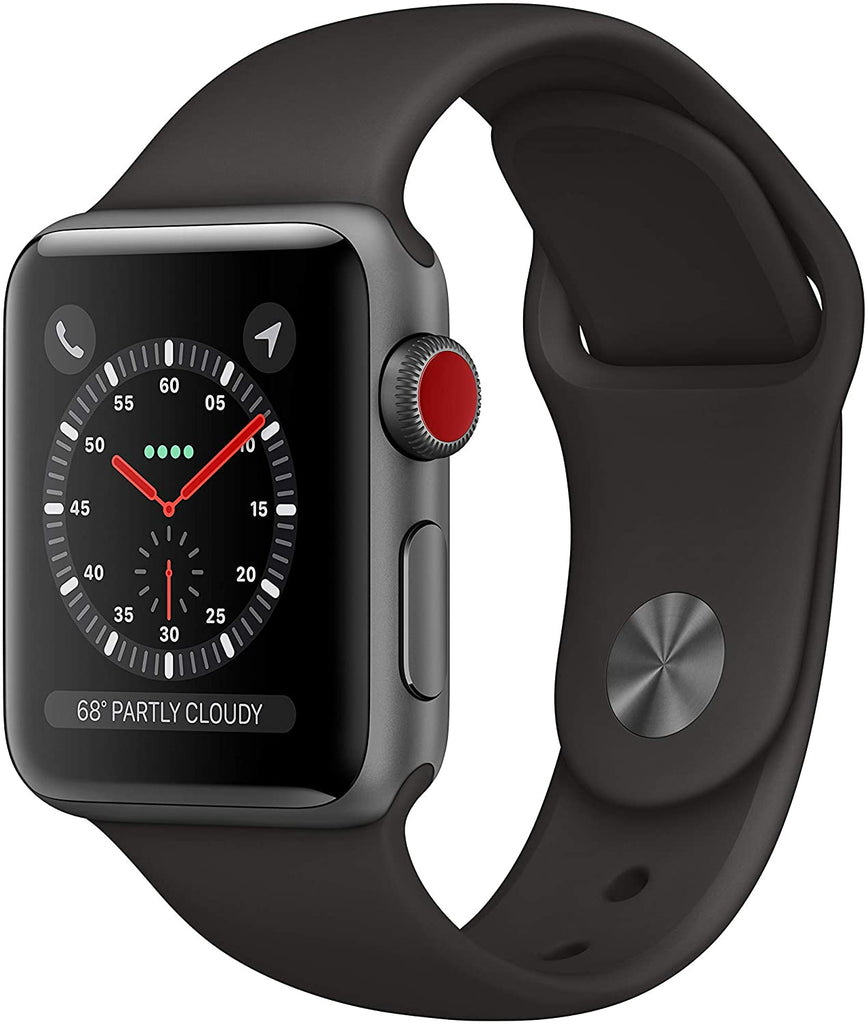 Apple Watch Series 3 38MM Space Gray (GPS Cellular)