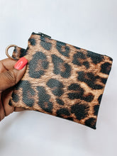 Load image into Gallery viewer, On the Go Coin Pouch-Leopard
