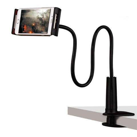 Bras Articulé flexible pour Tablette - Noir (100 cm) - Armature & Support A&S
