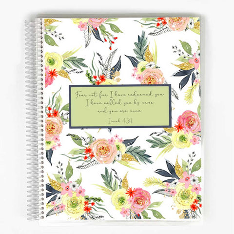 Guided Prayer Journal - Pink Floral Cover