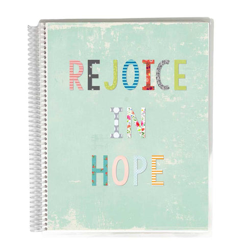 Guided Prayer Journal - Blue Rejoice Cover