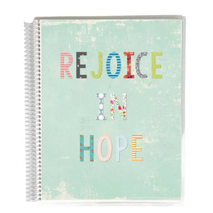 Bible Study Journal - Blue Rejoice Cover