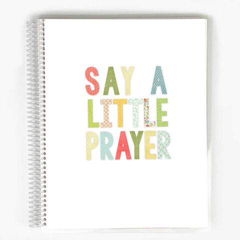 Guided Prayer Journal - Say a Little Prayer Cover
