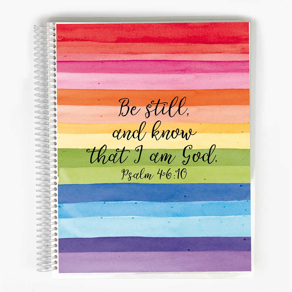 SOAP Bible Study Journal - Rainbow Cover