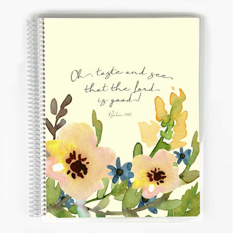 Guided Prayer Journal - Yellow Floral Cover