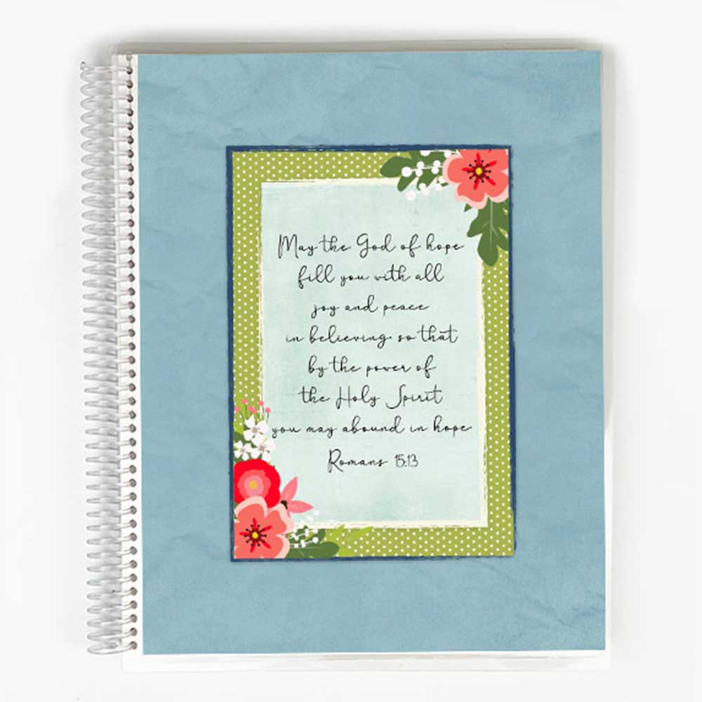 Guided Prayer Journal - Blue Meadow Cover
