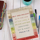 Identity Prayer Journal - Colorful Frame Cover