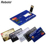 Bank Credit Card USB Flash Pen Drive
