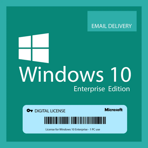 WINDOWS 10 ENTERPRISE GENUINE LICENSE KEY