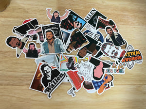 Morgan wallen mystery sticker pack