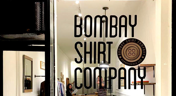 The Making of the Bombay Shirt Company NYC Store