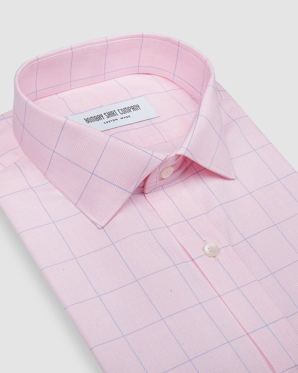 wrinkle resistant cherry blossom prince of wales checks