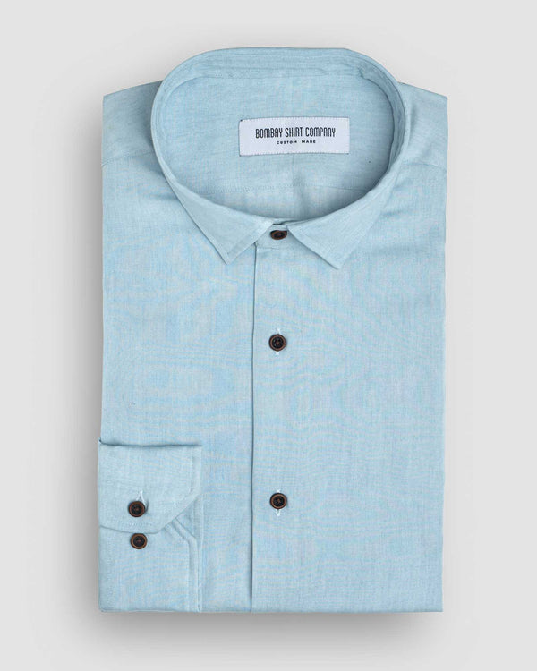 Bleach Blue Denim Shirt
