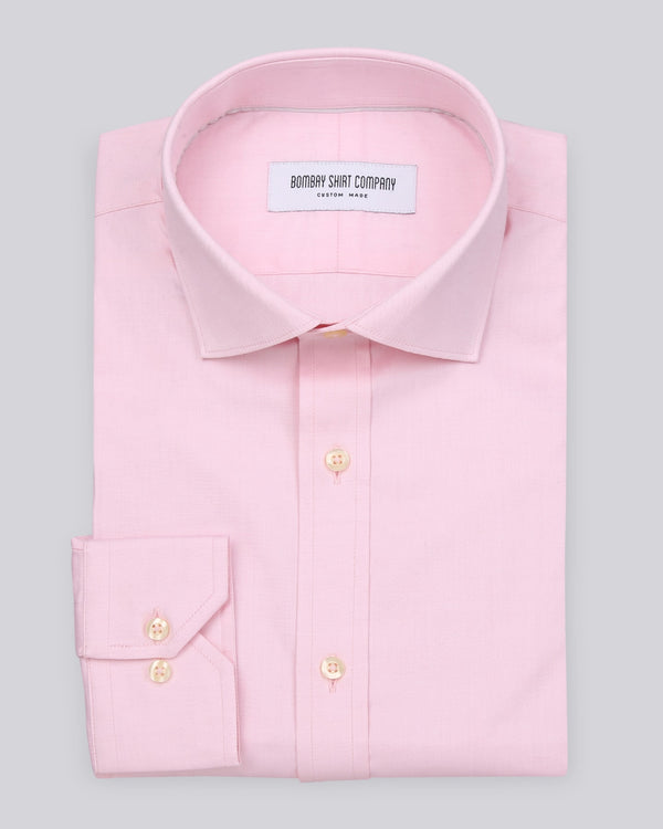 Wrinkle Resistant Pink Oxford Shirt