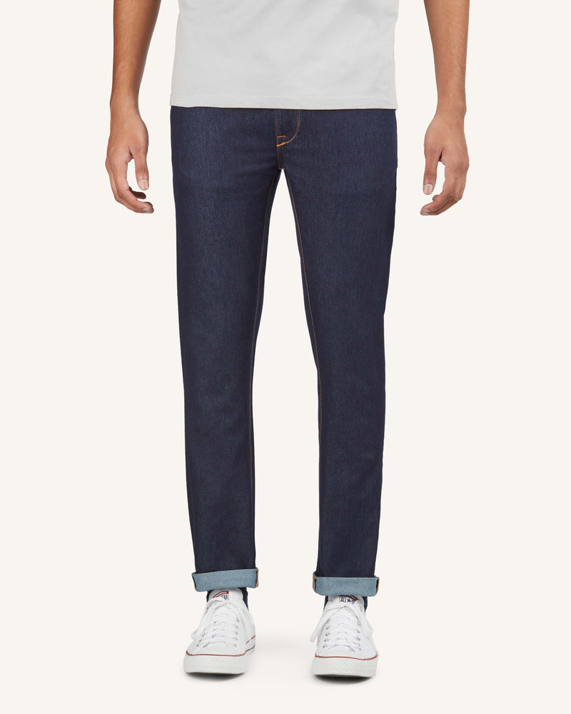 downtown-dobby-blue-light-stretch-jeans-front