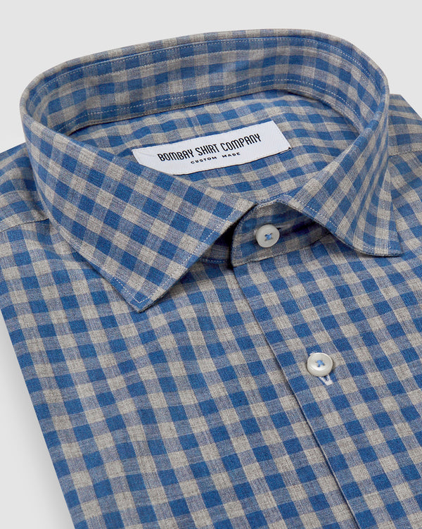 Japanese Blue Slub Shirt