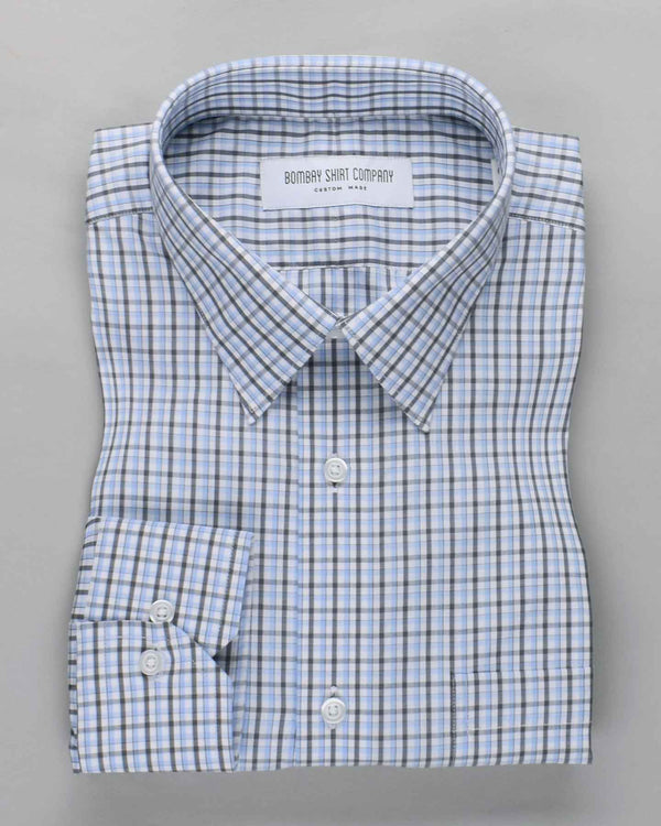Grit Grey Checks Shirt